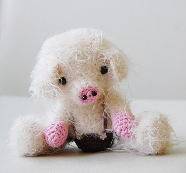 Cute Amigurumi Pigs : Amigurumi Pig - Custom Order by Pepika, via Flickr ...