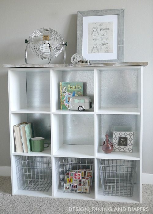 Diy Cube Storage Makeover Cube Storage Cubes And Storage