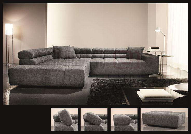 Candy Big Sofa modern Oregon Variante 3