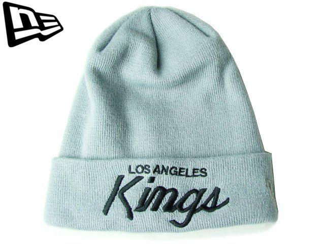 【ニューエラ】【NEW ERA】ニットキャップ NHL LOS ANGELES KINGS CUFF KNIT カフ(折り返し)タイプ グレー【BLACK】【BEANIE】【newera】【帽子】【new era】【ニット帽】【黒】【NEロゴ】【ワッチキャップ】【ロサンゼルス・キングス】【LA】【楽天市場】