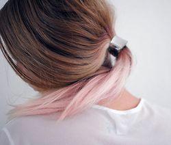 pastel hair. love.