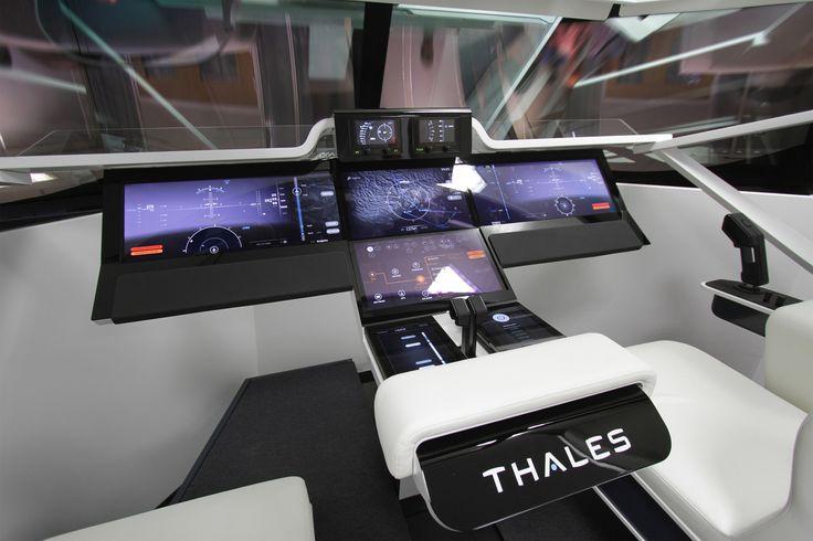 Cockpit d'avion tactile 2020 - Thales