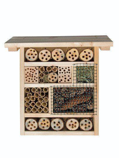 192 besten insektenhotel bilder auf pinterest g rtnern. Black Bedroom Furniture Sets. Home Design Ideas