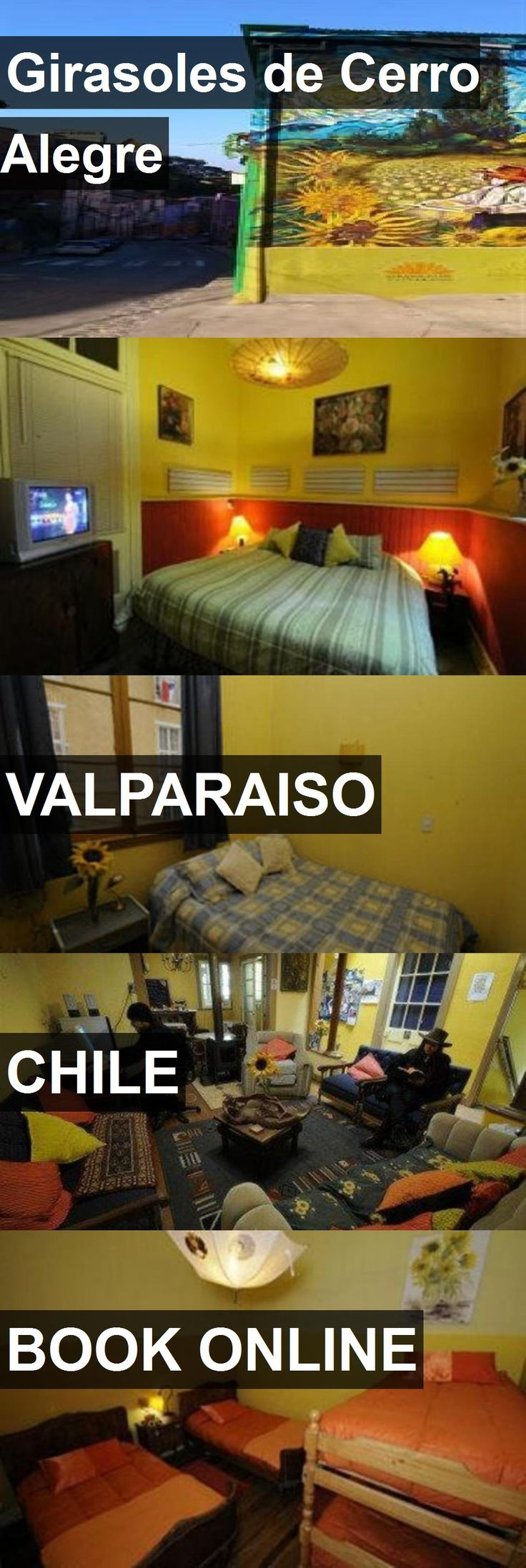 Hotel Girasoles de Cerro Alegre in Valparaiso, Chile. For more information, photos, reviews and best prices please follow the link. #Chile #Valparaiso #GirasolesdeCerroAlegre #hotel #travel #vacation