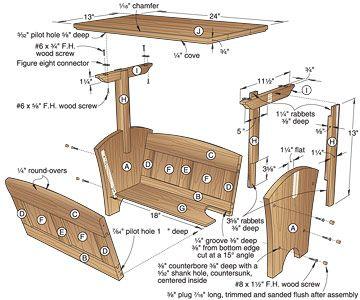 Magazine Rack Plans Woodworkingthis Do It Yourself