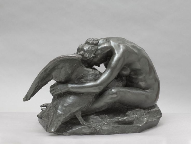 Leda and the swan | Jules Desbois |  Nationalmuseum, Sweden | CC BY-SA