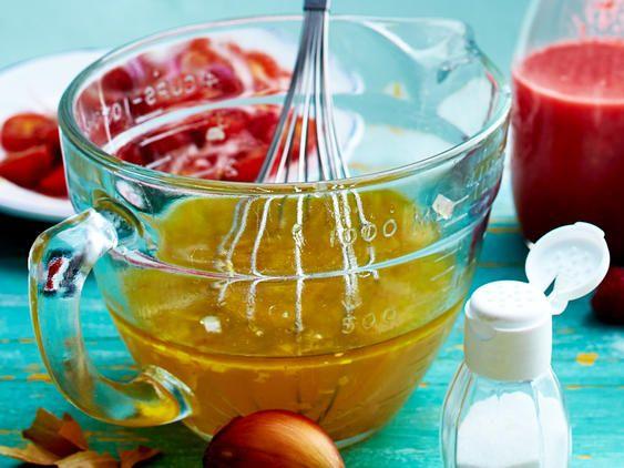 Salatdressing wie Vinaigrette selber machen