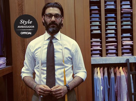 Meet Roger Shamoun, the sharply-dressed Sydney tailor who is next up in our Style Ambassador series!  http://www.clearlycontacts.com.au/thelook/roger-shamoun-style-ambassador/?cmp=social&src=pn&seg=au_14-06-06_rogerstyleambassador-smco