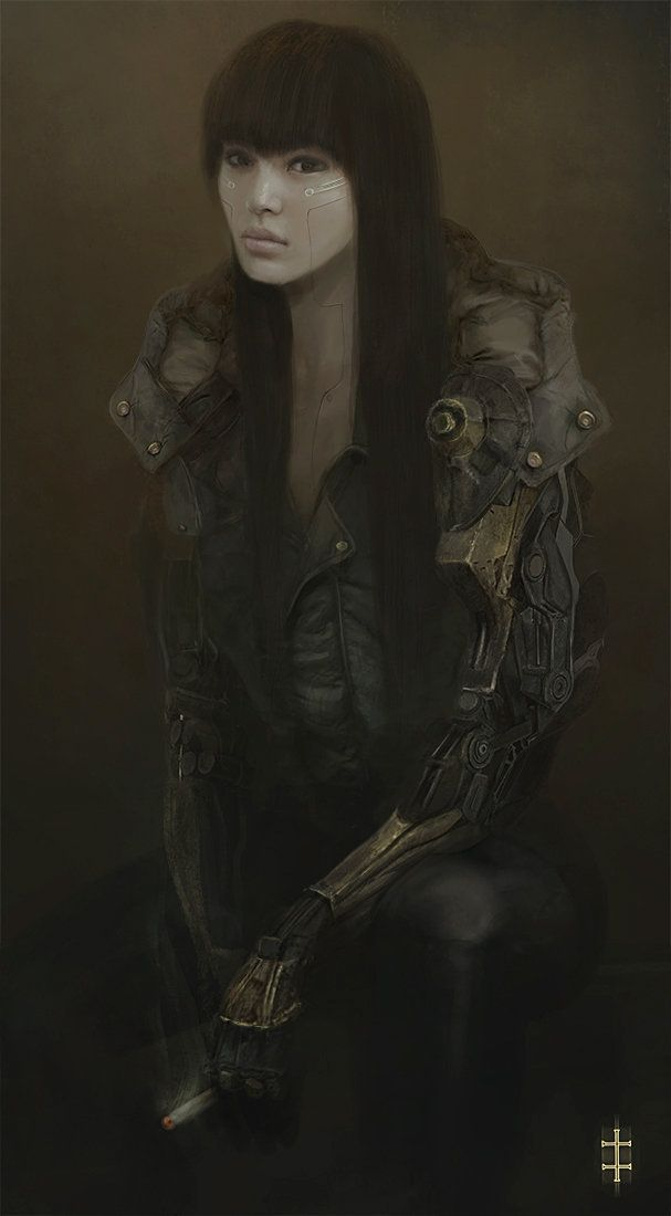 Cyborg Girl, Eve Ventrue on ArtStation at http://www.artstation.com/artwork/cyborg-girl