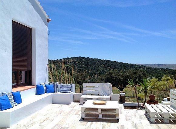 Mejores 15 im genes de extremadura casas con barbacoa en for Casas rurales en badajoz con piscina