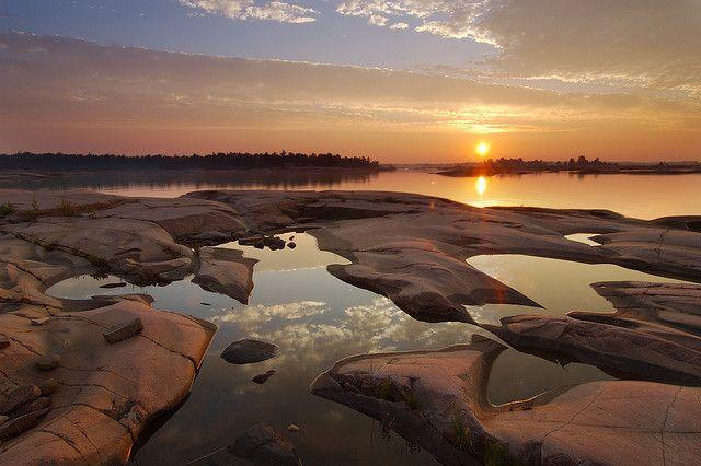 Georgian Bay Sunrise #2 | by Peter Bowers