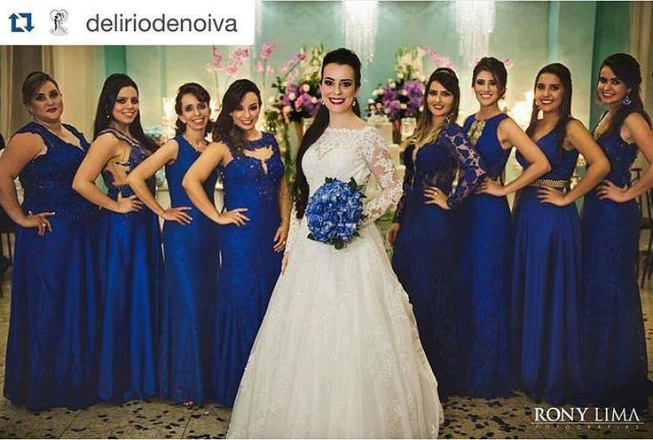 #Repost @deliriodenoiva with @repostapp. ・・・ Para as amantes do azul #noiva #dress #noivalinda #noivas #noivas2016 #noivinha #madrinha #madrinhas #azul #azultiffany #azulroyal #bouquet #buquedenoiva #festa #casamento #casamentodoano #penteadodenoiva #vestidodenoiva #dress #vestidos  #amei #madrinhadecasamento #lojamaisontiangua #tiangua #ceara #hair #casamentolindo   @ronylimafotografias