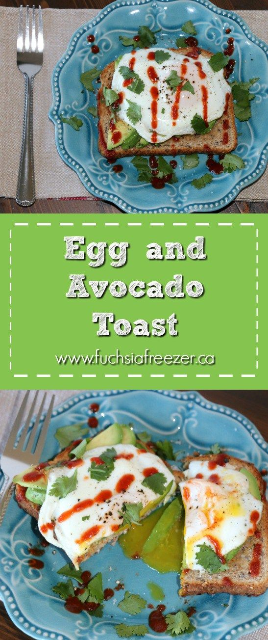 How to Start your morning off right: Egg & Avocado Toast! This breakfast is packed with protein & healthy fats. It's sure to keep you satisfied all morning and help you go those few extra miles in your busy life!