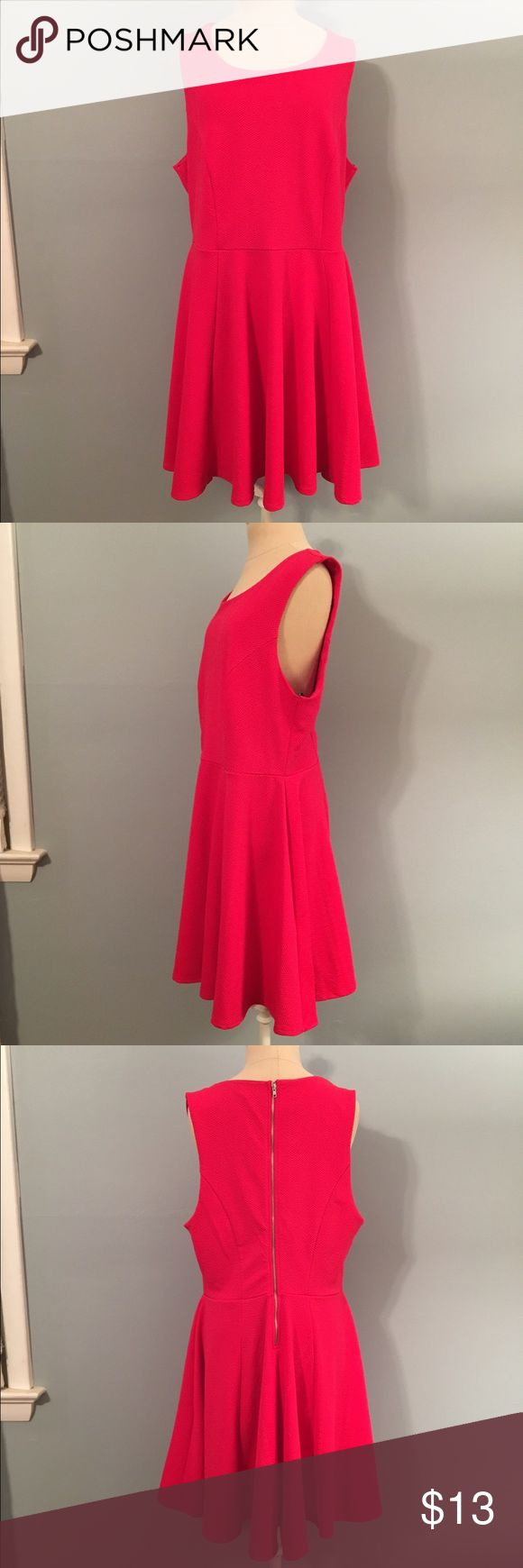 Forever 21 Plus Red Fit and Flare Dress Forever 21 Plus Red Fit and Flare Dress. Size 2X. Like new. NO TRADES! Forever 21 Dresses