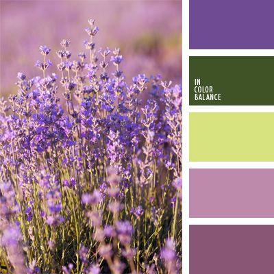color del espárrago, color flor de cardo, color lavanda, color malva oscuro, color violeta plateado, combinación de colores para decorar interiores, de color malva, elección del color, selección de colores para el diseño de interiores, tonos violetas.