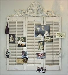 25 best ideas about Vintage shutters on Pinterest Distressed