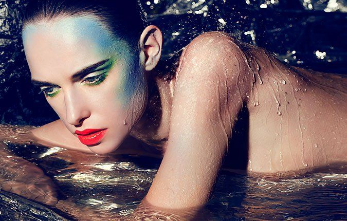 Masha Rudenko by Dirk Bader for 1st Magazine 2 – Beauty and Make Up Pictures