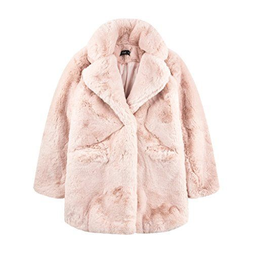"""– Oversize Faux fur light pink coat       Famous Words of Inspiration...""""Our doubts are traitors, and make us lose the good we oft might win, by fearing to attempt.""""   William Shakespeare — Click here for more from William...  More details at https://jackets-lovers.bestselleroutlets.com/ladies-coats-jackets-vests/fur-faux-fur/product-review-for-apparis-sophie-oversize-faux-fur-coat-light-pink/"""