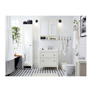 IKEA HEMNES/RÄTTVIKEN wash-stand with 2 drawers