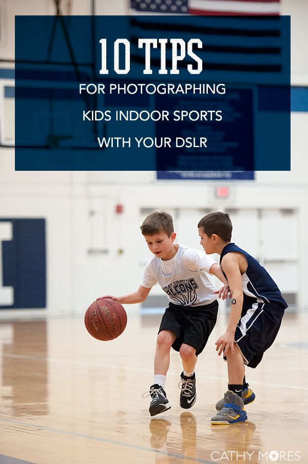 10 tips for photographing kids indoor sports #photography #phototips #DSLR…