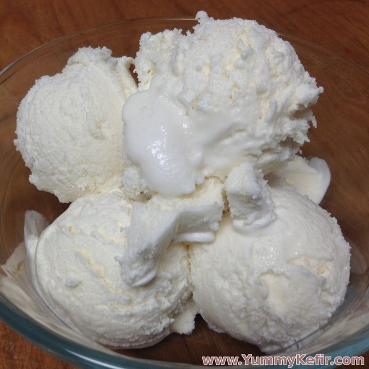 Whip up a quick batch of vanilla kefir ice cream with this simple recipe.