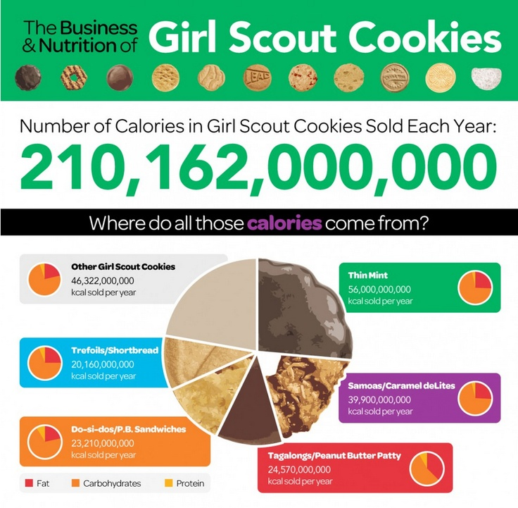 50 best images about girl scout cookies on pinterest