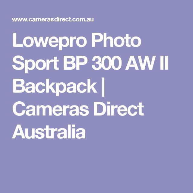 Lowepro Photo Sport BP 300 AW II Backpack | Cameras Direct Australia