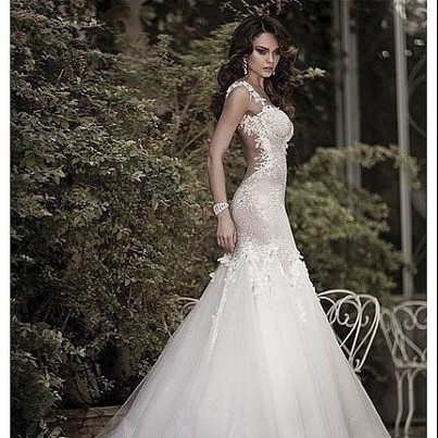 Beautiful sexy wedding dresses