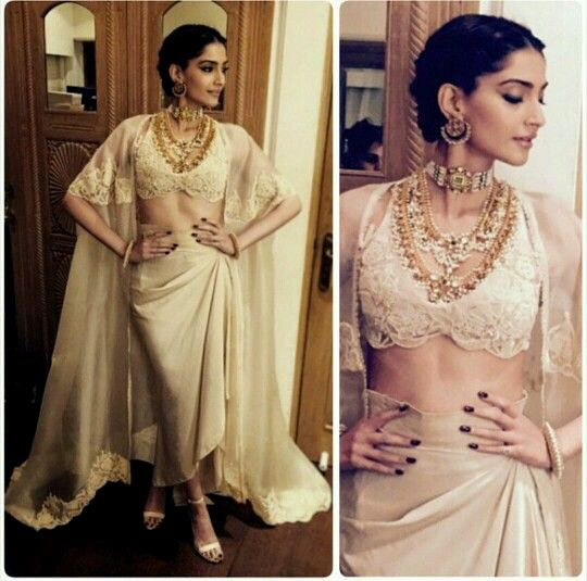 What To Wear For An Indian Wedding: Sonam Kapoor