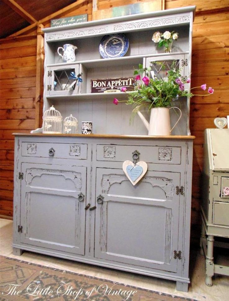 Best Decoupage Images On Pinterest Decoupage Ideas Painted - 6 beautiful diy shabby chic dressers and sideboards