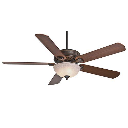 Ainsworth Gallery Onyx Bengal Three-Light 60-Inch Ceiling Fan