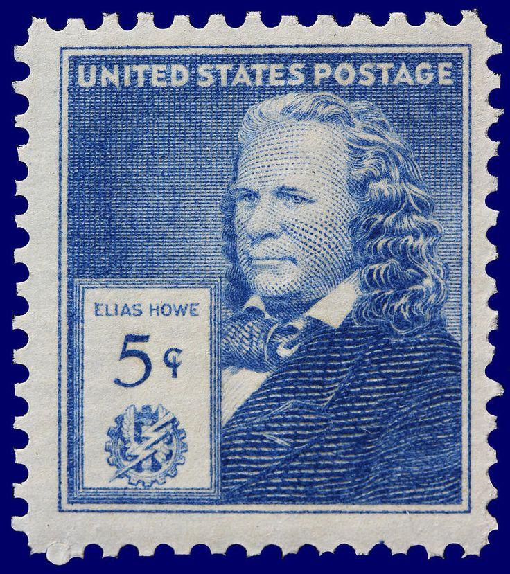 postage stamps | Elias Howe Postage Stamp Photograph