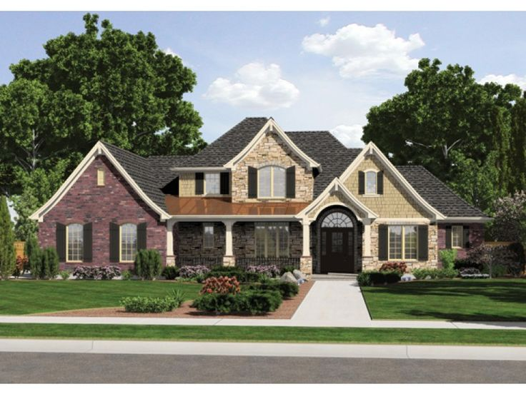european french country house plan with 2776 square feet and 4 bedrooms from dream home source