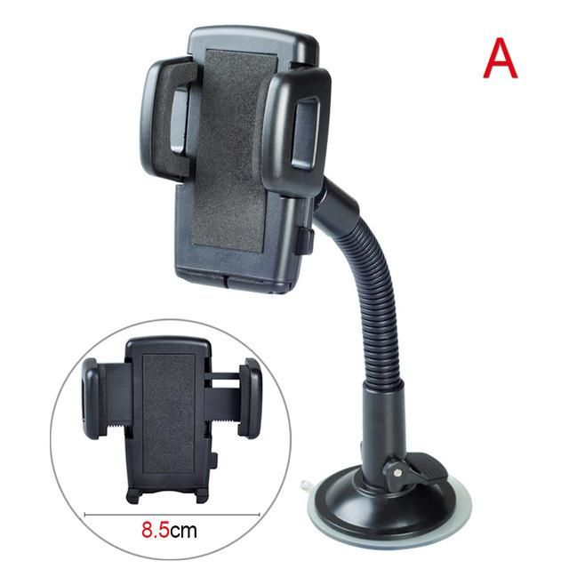 Automobile Accessory Holder Phone 360 Degree Rotatable Car Windshield Dashboard Phone