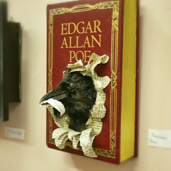 What do you think, writers—is this more cool or creepy?! (We know which Edgar Allen Poe himself would favor...) http://writersrelief.com/
