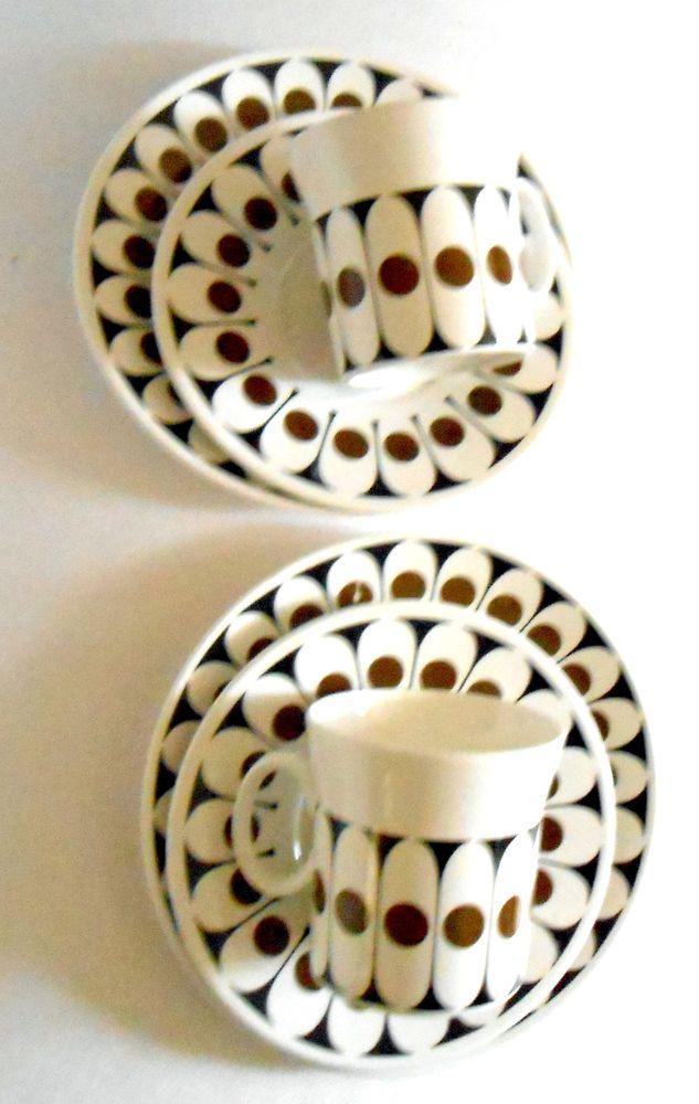 Hostess Tableware England John Russell Black Velvet 2x tea cup saucer side plate  sc 1 st  Pinterest & 36 best Pottery / Hostess Tableware images on Pinterest | Dinnerware ...