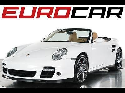 2008 Porsche 911 Turbo 2008 Porsche 911 Turbo Cabriolet - Pristine + California vehicle w/ low mileage!