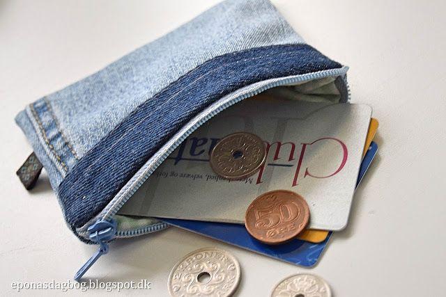 Den allerkæreste lille pung. Billede guide samt gratis mønster til sy selv