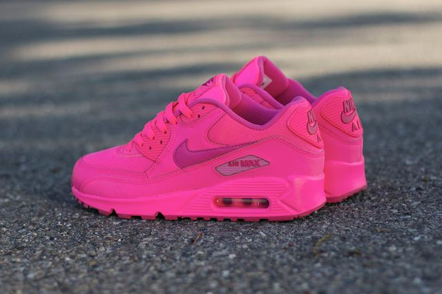 Nike Air Max 90 GS rose fluo