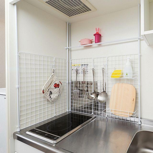 1kの狭いキッチンの上手な収納術 レイアウト実例も紹介 一人暮らし向け 狭いキッチン レイアウト インテリア 収納 狭い キッチン