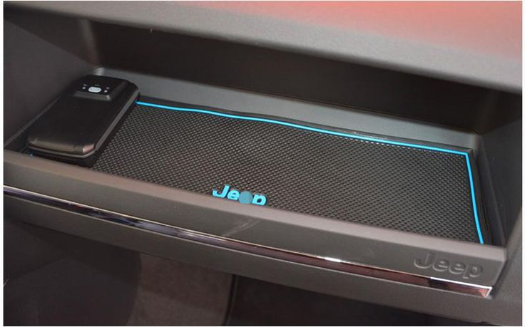 For Jeep patriot 2012-2014 Car anti slip mat Gate slot pad Interior accessory mat Cup Mat free shipping