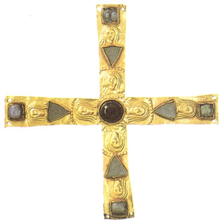Croce di Gisulfo, epoca longobarda, VII sec., conservata al Museo Nazionale di Cividale del Friuli