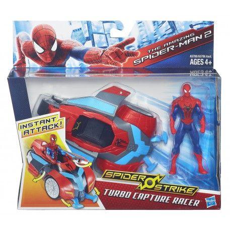 Marvel Spider-Man 2 Spider Strike Racers Turbo Capture Racer