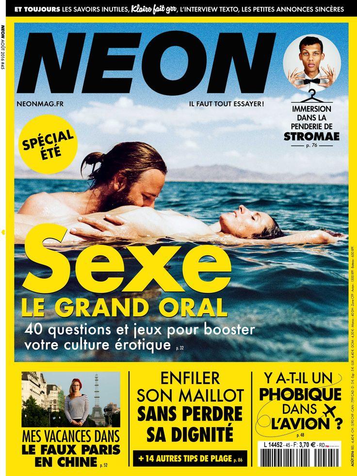 Magazine NEON n°45 - Août 2016