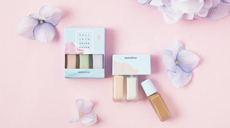 innisfree 2017Jeju Colour Picker Collection - Summer Colour Corrector Kit and Countouring Kit