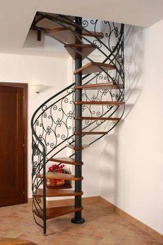 17 mejores ideas sobre barandillas de hierro forjado en for Ver escaleras de caracol