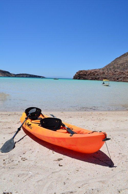Kayak adventures at Espiritu Santo!