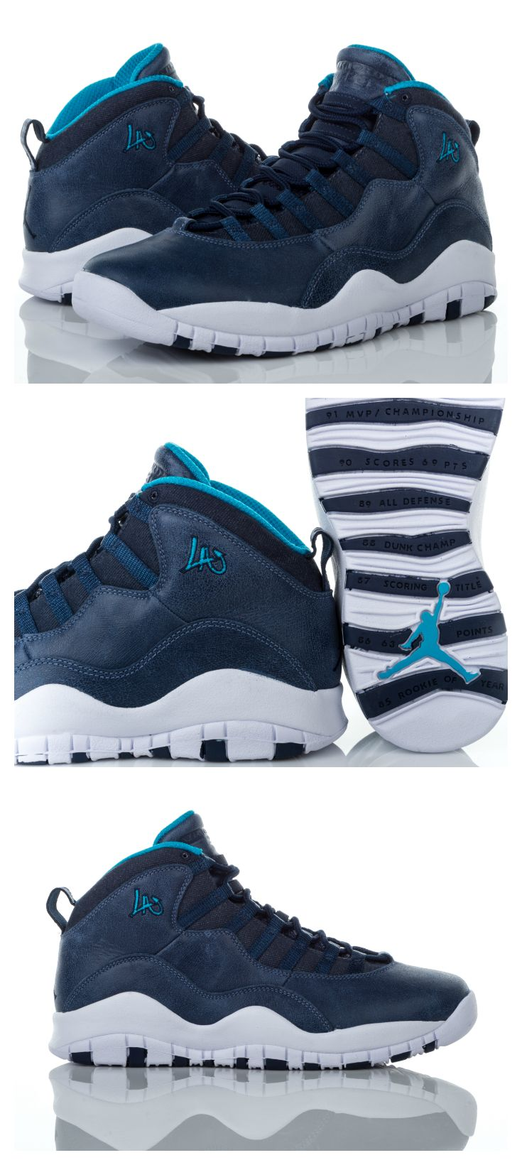Look fly with this shoe inspired by the City of Angels. Get the Jordan Retro 10 'LA' now.