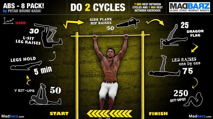 Rutina na břícho. Dá se udělat i půlka opakování, důležitý je nemít moc pauzy, když cvičíte břicho.