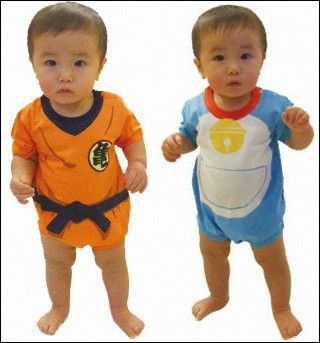 I almost want to have a kid just for the Goku outfit.